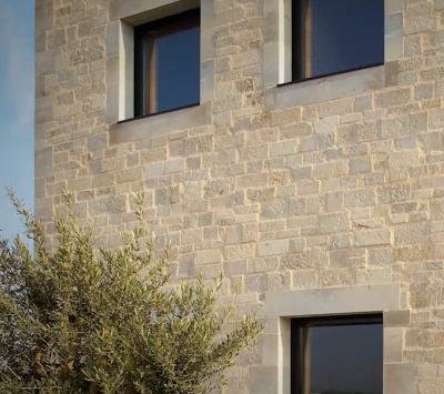 Parement pierre de taille exterieur realisation luna - Parement exterieur brico depot ...